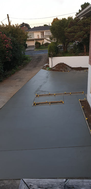 Concreting junction Driveway Opening