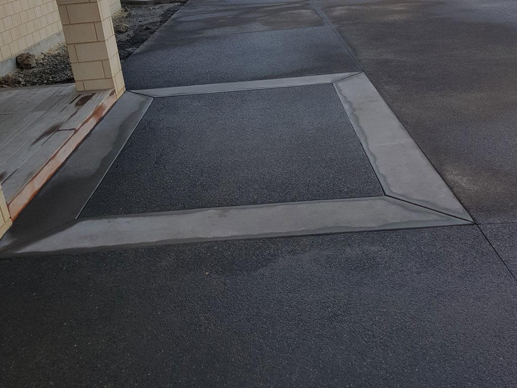 Concreting Setting Front Door