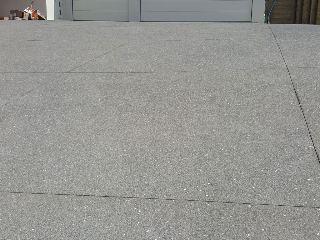 New Concreting Surface